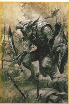 Gobelin, par (auteur inconnu), in Warhammer Battle 7e édition, livre d'armée Orques et Gobelins, par Games Workshop