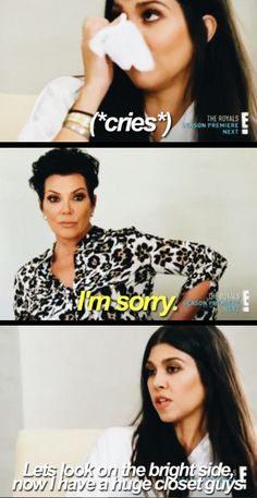 When she handled her split with Scott very well. | 27 Kourtney Kardashian Quotes That Are Absolutely Iconic