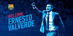 Ernesto Valverde newly appointed FC Barcelona head coach.. can't wait for the league to start!!  #HolaValverde