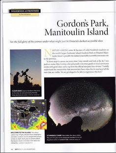 gordonspark.com Manitoulin Island, Gordon Parks, Fresh Water, Wilderness, The Outsiders, Sky, Pictures, Heaven, Photos