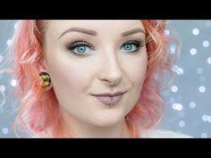 Matowy makijaż w odcieniach brązu - dzienne smokey eyes ♡ Red Lipstick Monster ♡…