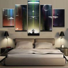 Star Wars X-Wing Light Switch Vinyl Sticker Decal for Kids Bedroom #401