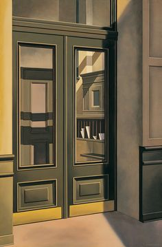 Kenton Nelson, Delivered, oil on canvas