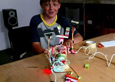 Would your kids love this cool invention STEM littleBits Gizmos & Gadgets Kit? Mine would! @littleBits. #littleBits #ad