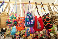 Wayuu bags from Colombia,handcraft by local people.