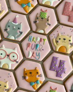 Cat Cookies, Spice Cookies, Fancy Cookies, Cupcake Cookies, Cupcakes, Summer Cookies, Cookies For Kids, Holiday Cookies, Sugar Cookie Royal Icing