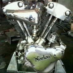 Norton side cover on a knucklehead?