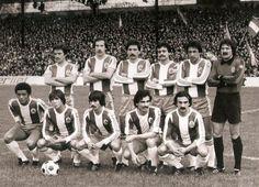 Boavista vs. FC Porto, 1978/79. FC Porto:  Teixeira, Simões, Rodolfo, Oliveira, Vieirinha, Fonseca.  Duda, Fernando Gomes, Frasco, Murça, Costa.