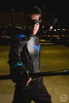 Nightwing Cosplayer #Nightwing Cosplay #nightwing Costumes