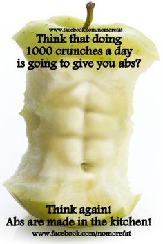 Eating for abs today!