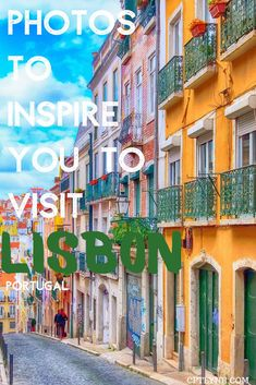 In need of some travel inspiration? Then why not add Lisbon, the capital of Portugal to your bucket list, those 20 photos will make you want to go right now! | lisbon travel photos | Lisbon Portugal photography | Lisbon aesthetic | Lisbon Portugal aesthetic | Lisbon night color street | Lisbon travel guide Visit Portugal, Portugal Travel, Lisbon Portugal, Europe Destinations, Amazing Destinations, World Travel Guide, Europe Travel Guide, Travel Tips, Ukraine