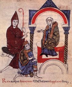 "Matilda of Canossa: 1046-1115; Matilda of Canossa was an Italian noblewoman, the principal Italian supporter of Pope Gregory VII during the Investiture Controversy. She is one of the few medieval women to be remembered for her military accomplishments. She is sometimes called la Gran Contessa (""the Great Countess"")."
