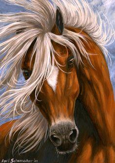 Alpine Charm by pallanoph on deviantART ~ artist April Schumacher ~ horse