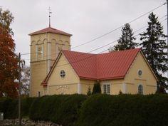 Hinnerjoen puinen kirkko valmistui vuonna 1755. Kirkko siirrettiin nykyiselle paikalleen kauemmaksi läheisestä koskesta vuonna 1799 ja samal...