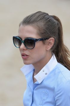 Charlotte Casiraghi Photos: International Monte-Carlo Jumping/2014