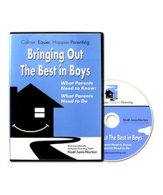 In this dynamic DVD, acclaimed parenting expert Noël Janis-Norton offers parents a new approach to dealing with boisterous boys! With the help of a few simple strategies, little ones easily increase focus, reduce aggression and impulsiveness and learn to be more cooperative. The solid system encourages helpful habits and brings out the best in every budding young man.Run time: 120 minutes