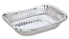 Reed and Barton Queen Anne Bread Tray Silver Trays, Reed & Barton, Queen Anne, Wedding Gifts, Bread, Cake Stands, Baked Goods, Knot, Plating