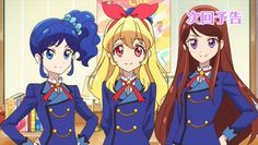 A look ahead to the next episode. Aikatsu Ran, Avatar, Anime Release, Magic Knight Rayearth, Anime Episodes, Disney Characters, Fictional Characters, Character Design, Animation