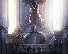 Safebooru is a anime and manga picture search engine, images are being updated hourly. Final Fantasy Artwork, Final Fantasy Xv, Fantasy Series, Fantasy World, Games Design, Anime Gifs, Throne Room, Fantasy Castle, Noctis
