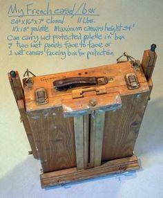 37-Yr-Old Paint Box and Custom Easel Setup - WetCanvas