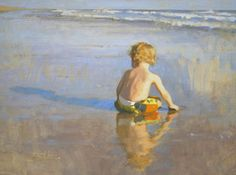 Nancy Guzik Art | was also excited to find out that my painting Beachcomber (Oil on ...