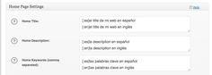 Cómo implementar el SEO en una web en varios idiomas en WordPress