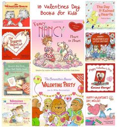 10 Valentines Day books for kids