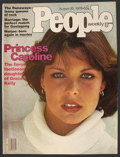 magazine covers with princess caroline - Google Search