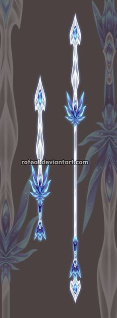 Ice Blue Weapon