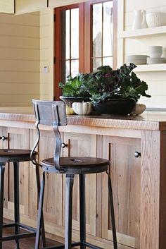 Lake House - traditional - kitchen - atlanta - Yvonne McFadden LLC