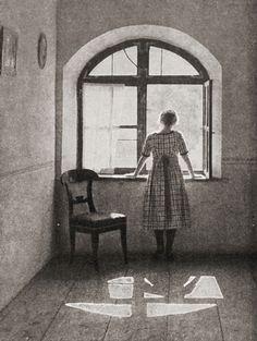 waiting / Am Fenster, 1922 by Hans Kammerer