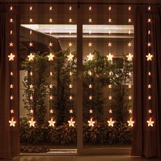 Christmas Star Curtain Stars with RF Remote Control-Waterproof-Warm White String Light for Christmas/Halloween/Wedding/Patio Lawn/Home/Party Backdrop - - Seasonal Décor, Seasonal Lighting, Indoor String Lights # # Christmas Lights Wallpaper, Hanging Christmas Lights, Easy Christmas Ornaments, Christmas Star, Holiday Lights, Outdoor Christmas, Christmas Decorations, Cozy Christmas, Christmas Wedding