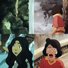 """Kataang/Kainora parallel  #kataang #kainora"" It looks like Janors is so upset!!! I love this!!"