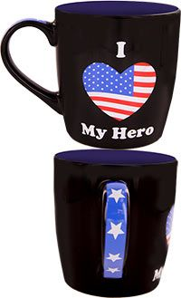 My Hero Mug: LAST DAY OF SALE! Show your love and support for the hero in your life with this positively patriotic mug, only $5.99! Sale ends 6/28 11:59 PM PT. Each purchase provides one meal for homeless and hungry veterans.