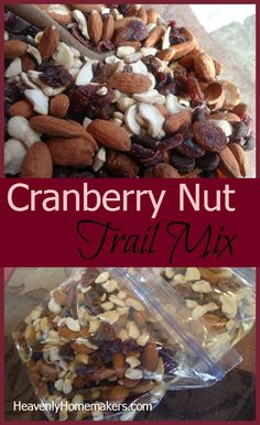 Cranberry Nut Trail Mix
