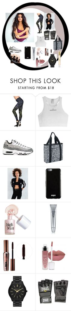 """Work it ..."" by elenatsartsani on Polyvore featuring NIKE, adidas, Givenchy, Benefit, Shiseido, MICHAEL Michael Kors, Everlast and Burberry"