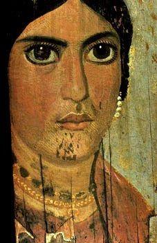 Les portraits du Fayoum (Egypte) ERT