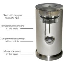 The complete CAL2K bomb vessel with features - DDS CALORIMETERS