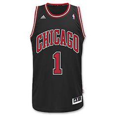 adidas Chicago Bulls Derrick Rose Swingman Jersey