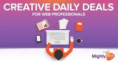 Daily creative deals that rock !! #design #deals #creative