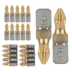 Titanium Coated Screwdriver Bits . Starting at $1