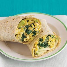 Make your own restaurant-worthy breakfast wrap at home, and load up on protein and fiber while you're at it! | Health.com