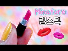 미니어쳐 진짜 연필 만들기 (뭉뚝해지면 깎아서 쓰면 돼요*_*)/ * Miniature Real Pencil ミニチュア本物の鉛筆 - 레아네미니하우스 - YouTube