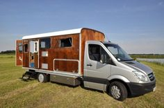 Camper Vans Get Green With Tonke Campers' Stylish Designs