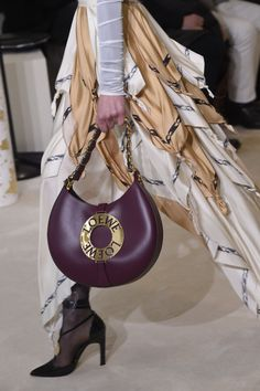 Detail of Figure 1  The border treatment on the skirt points is also reminiscent of the Minoan textile designs seen in Figure 2.   LOEWE Fall Winter 2016 Women's Paris Show