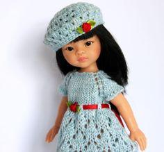 OUTFIT-13-Puppenkleidung-32-36cmPuppe-Set2tlg-NEU-Paola-Reina-Effner-Minouche