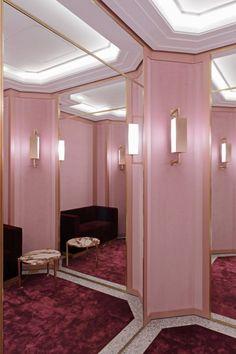Pucci flagship store Madison Avenue, New York. Architect - Joseph Dirand.