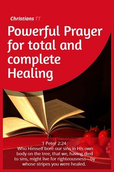 Prayer the blessings of spiritual gifts spiritual gifts prayer for healing total and complete verses on healingpowerful bible negle Choice Image