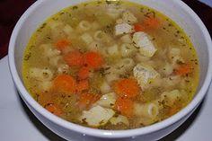 Chicken ditalini soup