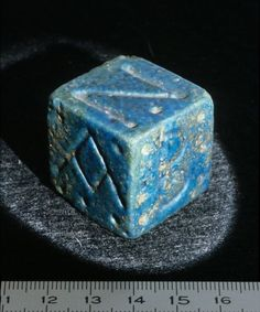 egyptian dice | LOUVRE COPY OF Ptolemaic period (323 - 30 BC) EGYPTIAN D6 | Dice